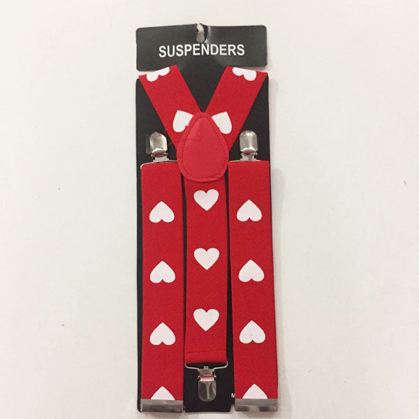 Suspenders - Heart