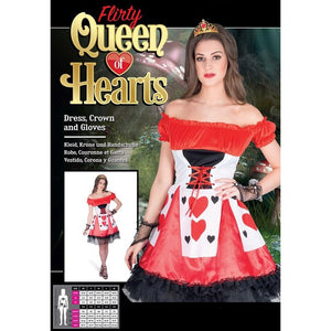 Flirty Queen of Hearts Costume