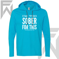 Bahama Mama I'm Too Sober For This - Ladies Pullover