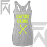 Death Wobble Survivor - Racerback Tank