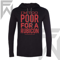 Rubicon Black Pull Over Hoodie (M)