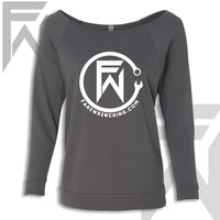 FW Wrench Logo - Off the Shoulder Top