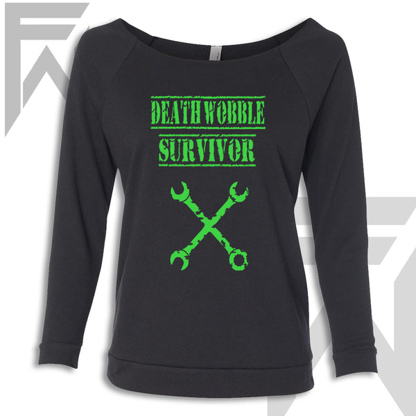 Death Wobble Survivor - Off the Shoulder Top