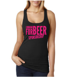 Beer Sponsorship Fitted Tank