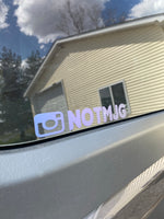 Custom IG Username Decal
