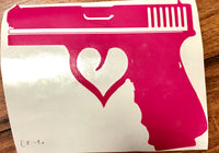 Gun Lover Decal