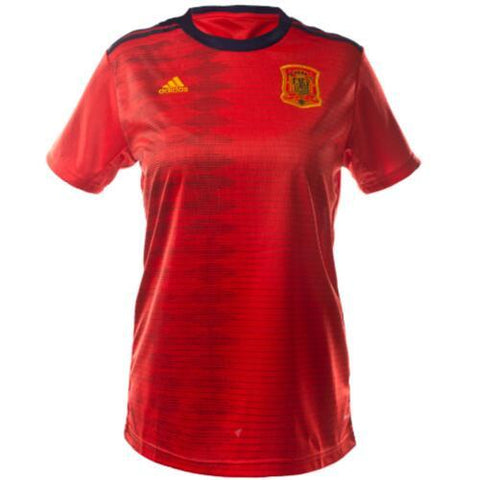 Women's Customized 2019 Spain Home Jersey