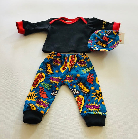 Preemie-Yums Super Hero 3pc Set