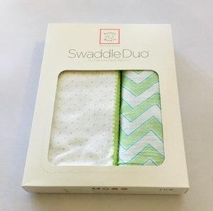 Swaddle Designs Dot and Zig Zag boxed set of 2