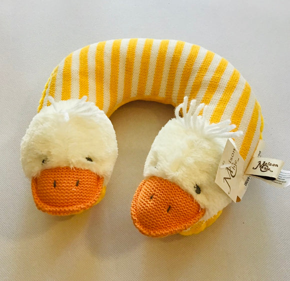 Maison Chic Travel Pillow  Quackers the Duck