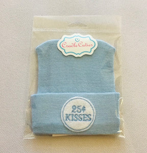 Cradle Cuties Hat  25Cent Kisses
