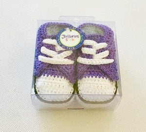 Jefferies Socks Purple Sneaker Bootie