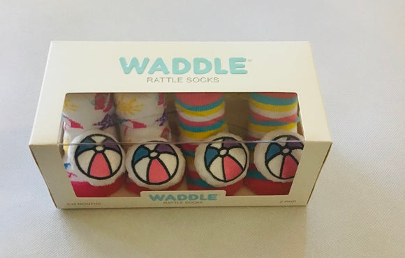 Waddle Rattle Socks Beach Ball