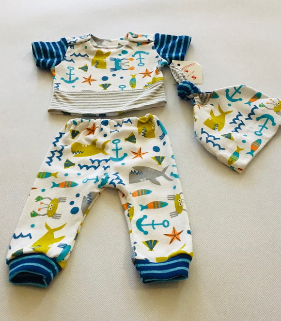 Preemie-Yums Sea Life 3pc Set
