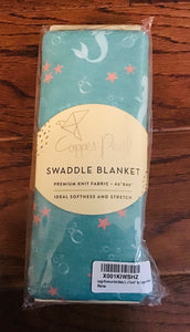 "Copper Pearl Swaddle Blanket ""Coral"""