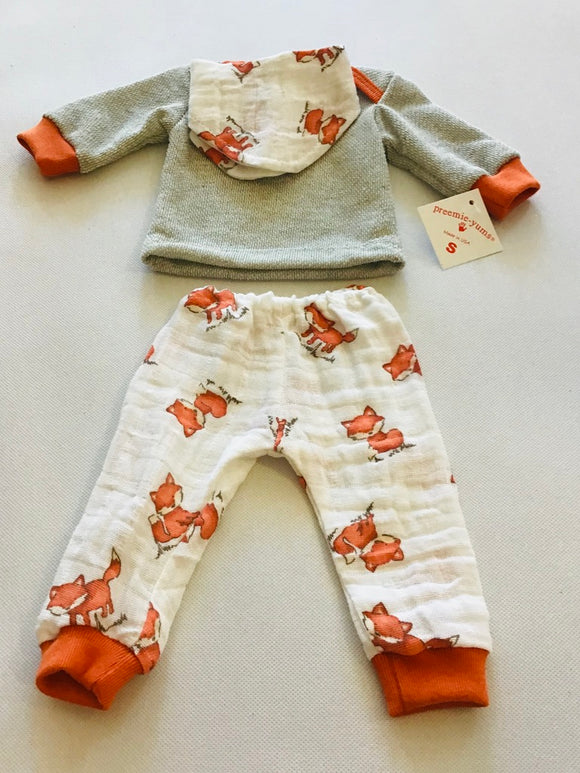 Preemie-Yums Fox 3pc Set