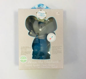Meiya & Alvin Alvin the Elephant - All Rubber Squeaker Toy