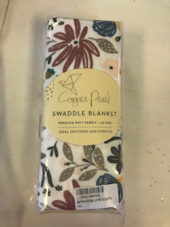 Copper Pearl Swaddle Blanket - Olive