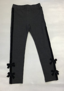 Mini Molly Knit Tux Pant with Bow