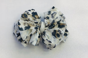 In Awe Headband - Leopard - White
