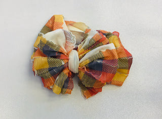 In Awe Headband - Fall Plaid