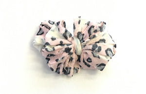 In Awe Headband - Pink Leopard