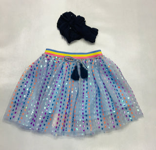 Baby Sara Multicolor Sequin Tutu Skirt