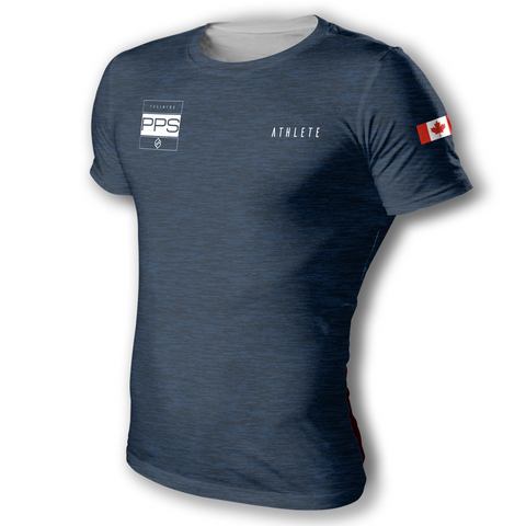 TEAMPPS | Training Tee-Blue Heather