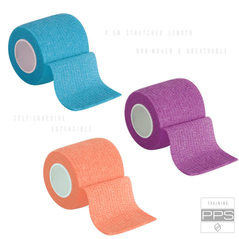 Lifter Tape-3 Pack: Rose, Electric Blue, Orange