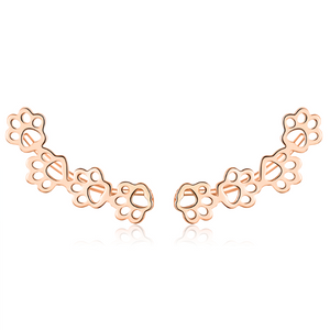 Cute Dog Paw Earrings (SBE430-C)
