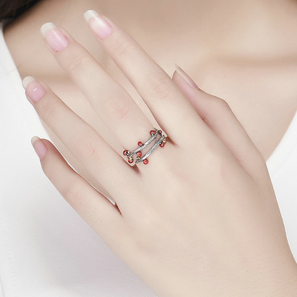 Forest Path Ring (sbR442-SS)