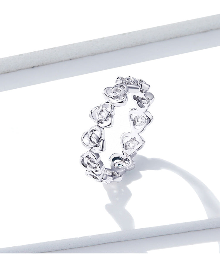 The Rose Stackable Ring (BSR059-6)