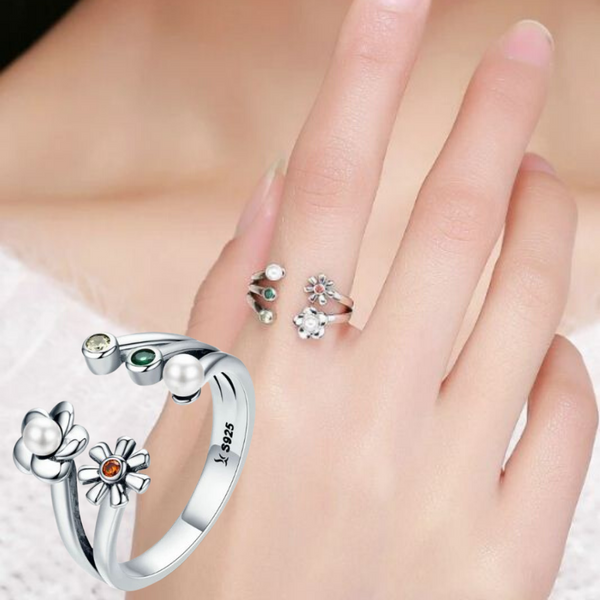 In Love with Nature Ring (sbR297-SS)