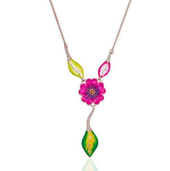Floral Necklace (BIE002)