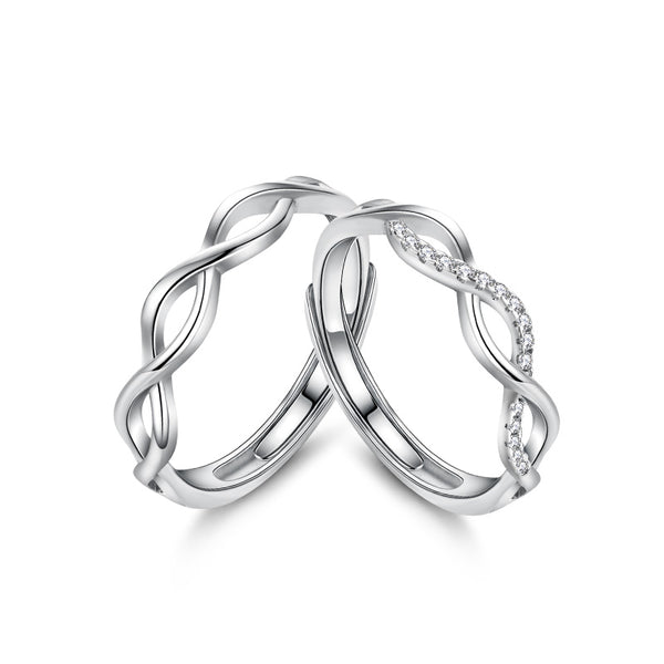 Forever and Always Couple Ring (T818)