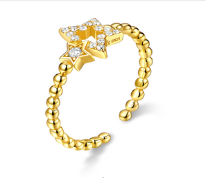 Stargazer Gold Ring (SBR561)
