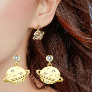 Secret planet earrings (SBSE091)