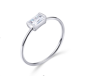 Dainty Stackable Diamond Ring (SBR565-6)