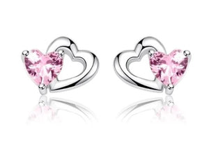 My lovely heart earring (sbE090)