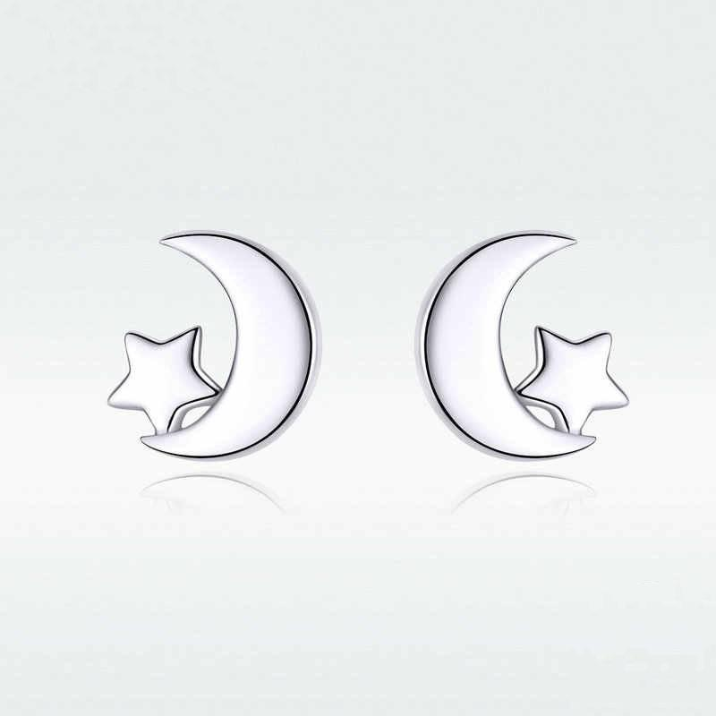 Moon and Star Earring (SBE726)
