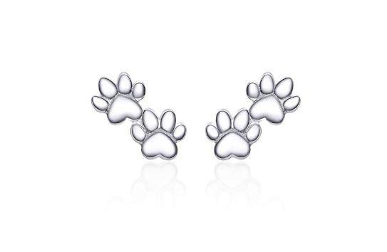 Pet's Footprint Earrings (SBE718)