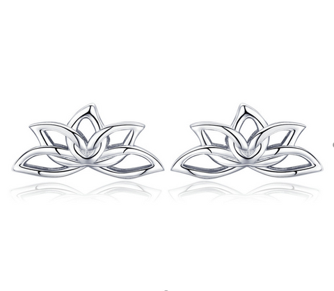 Lotus crown earrings (SBSE024)
