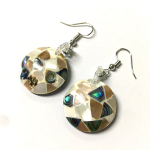 Radiant Shell Mother of Pearl Earrings