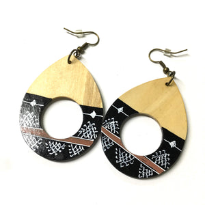 Wood Hover Earrings