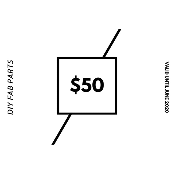 $50 Gift Card - Gift Card