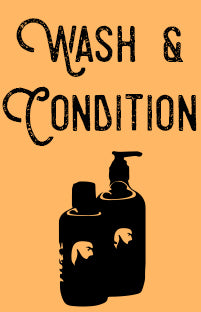 Wash and Condition