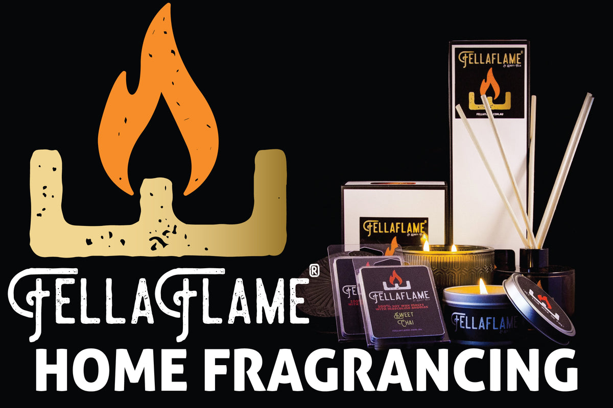 Fellaflame Home Fragrancing by Scruffy Fella