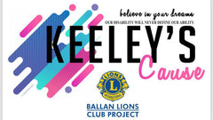 Keeley's Cause banner