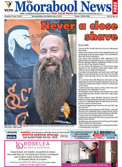 Scruffy Fella in the Moorabool News