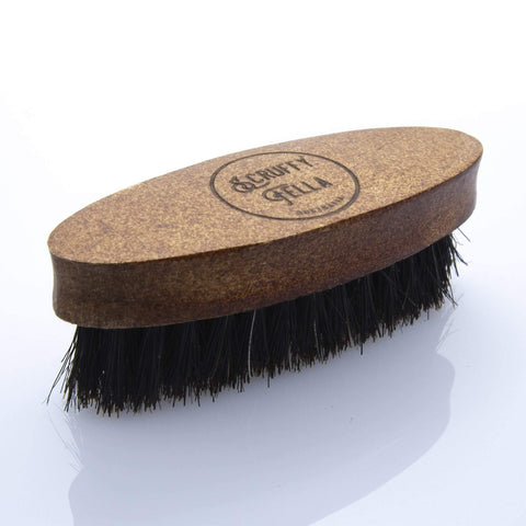 Scruffy Fella Boar Bristle Moustache Brush